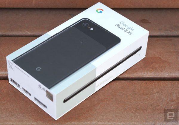 Google Pixel 3 XL le packaging