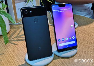Google Pixel 3 XL démo et prise en main en vidéo