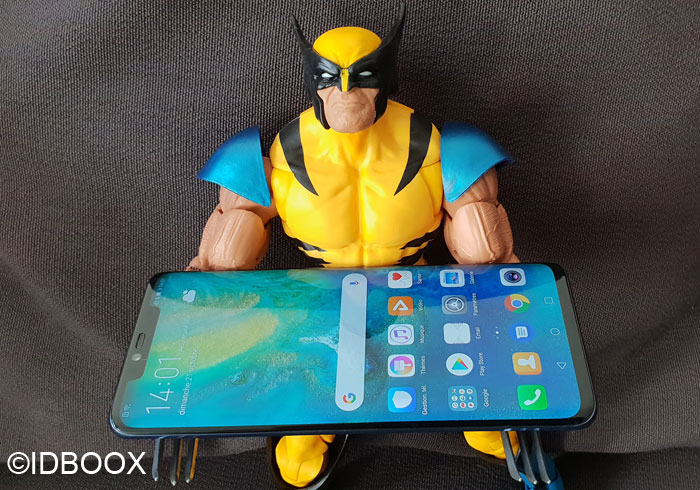 Huawei Mate 20 Pro test du scanner facial 3D
