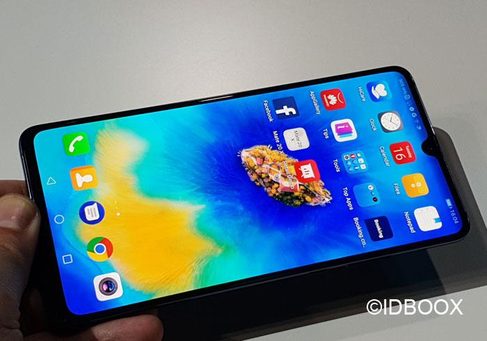 Huawei Mate 20X écran 7,2 pouces