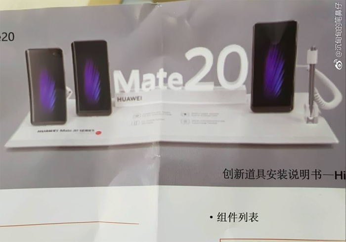 Huawei Mate 20X aperçu avec un stylet