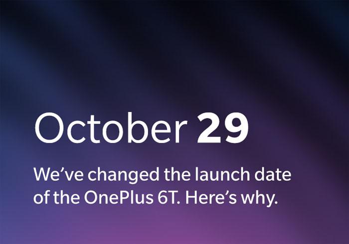 La sortie du OnePlus 6T avancée