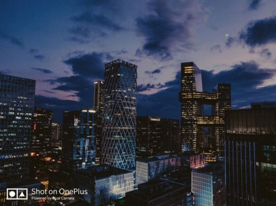 OnePlus 6T photo prise de nuit