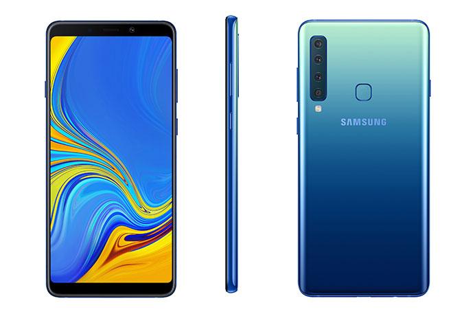 Samsung Galaxy A9 avec 4 capteurs photo