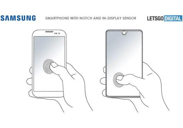 Galaxy S10 brevet pour lecteur d'empreintes sous l'écran