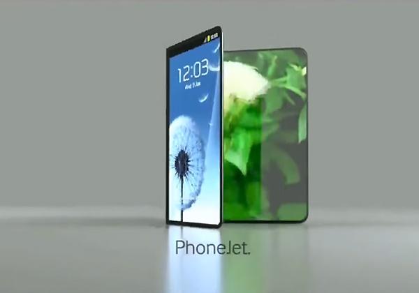 Samsung smartphone écran pliable en novembre