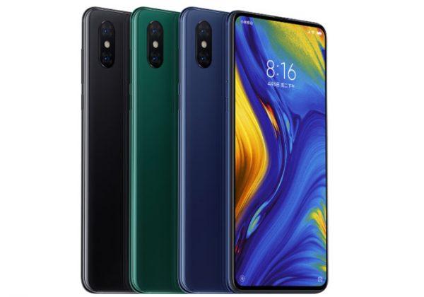 Xiaomi Mi Mix 3 écran coulissant