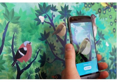 birdie memory appli realite augmentee