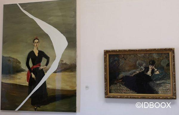Schnabel Expo Musée d'Orsay vu par Schnabel