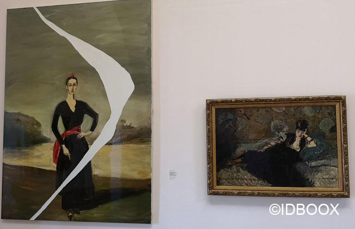 Expo Musée d'Orsay vu par Schnabel