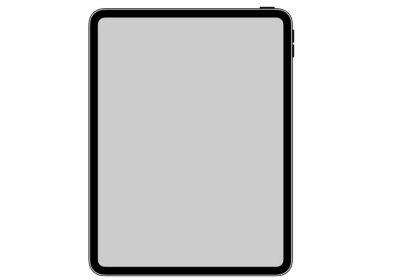 iPad Pro 2018 une icône révèle son design