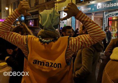 Amazon Pop up Store La Maison de Noël à Paris
