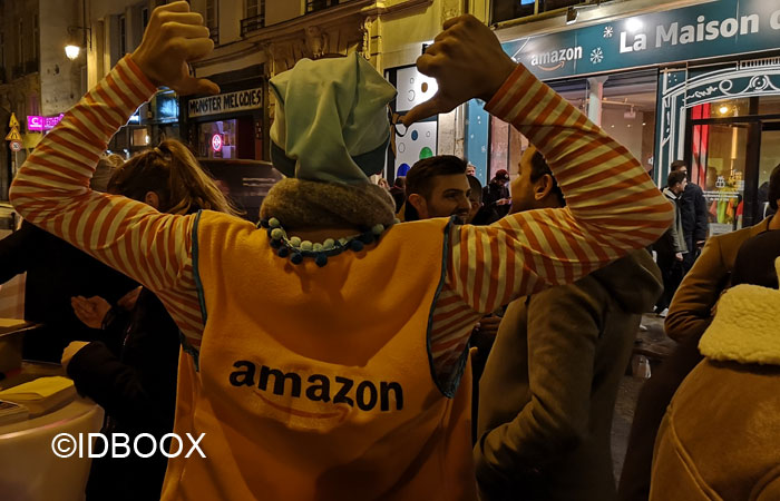 Amazon Pop up Store La Maison de Noël à Paris