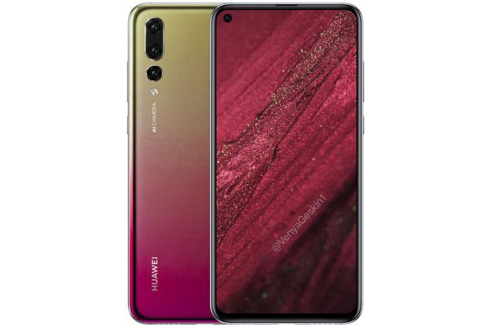 Huawei présente son smartphone et son écran avec un trou