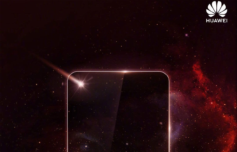 Huawei un smartphon avec écran perforé en décembre
