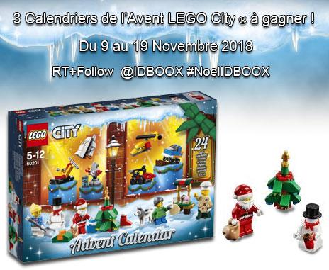 Jeu Lego City Calendrier de l'Avent