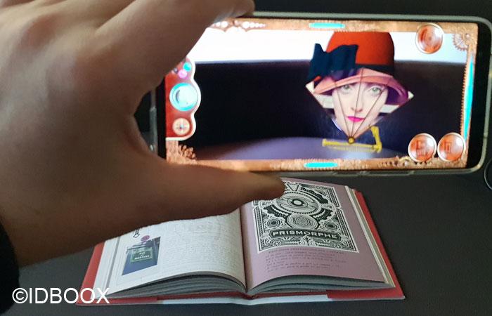 Livre Journal d'un Gardien de Fantômes avec de la réalité augmentée 02