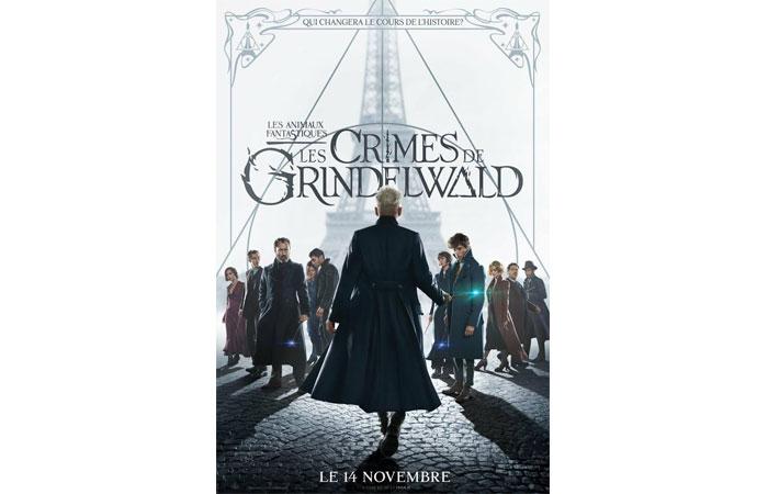 Les animaux fantastiques : Les Crimes de Grindewald J. K. Rowling nous offre une film magique
