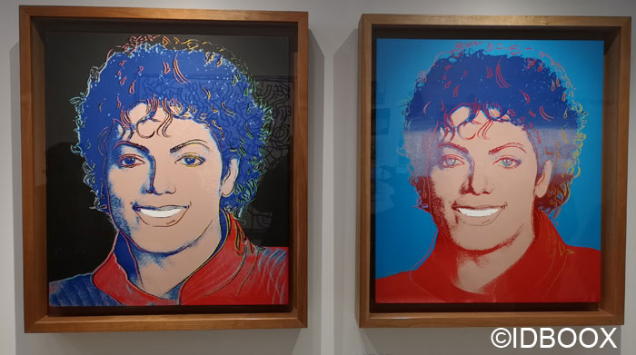 « Michael Jackson » d'Andy Warhol 1984