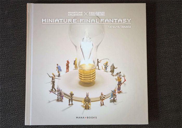 Miniature Final Fantasy le livre