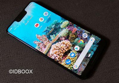 Pixel 3 XL test du smartphone de Google