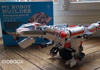 Xiaomi Mi Robot Builder test du jeu de construction et de coding