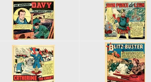 comics vintage ebooks