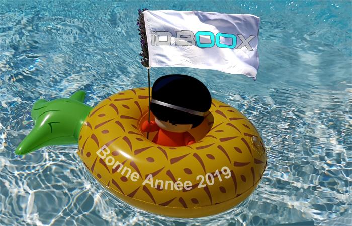Bonne Année 2019 de la part de IDBOOX