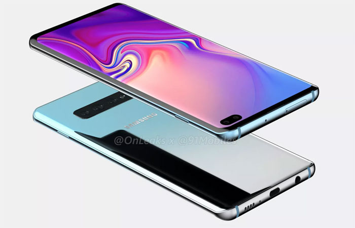Samsung Galaxy S10+ comparé au Galaxy S9+