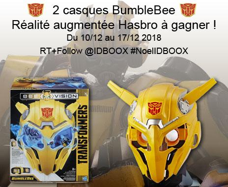 Jeu-concours masques BumbleBee Hasbro