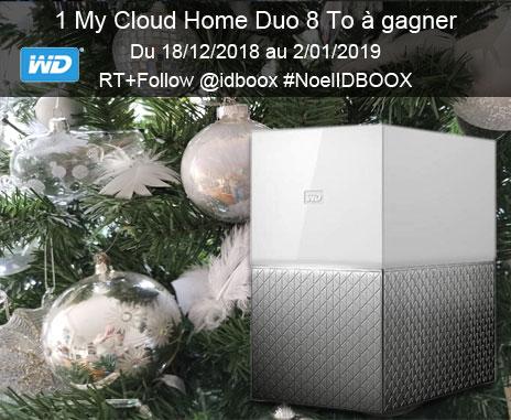 Jeu concours Western Digital 1 My Cloud Home à gagner