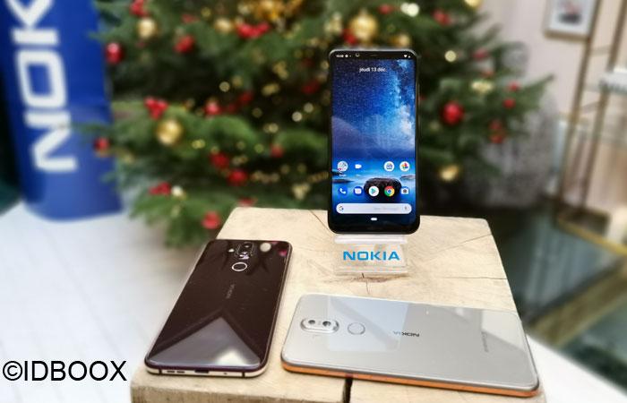 Nokia 8.1 prise en main en vidéo