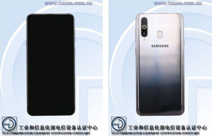Samsung Galaxy A8s les photos de la TENAA