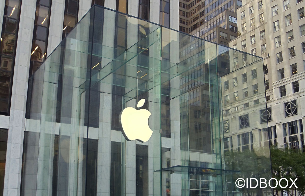 Apple ventes d'iPhone en baisse