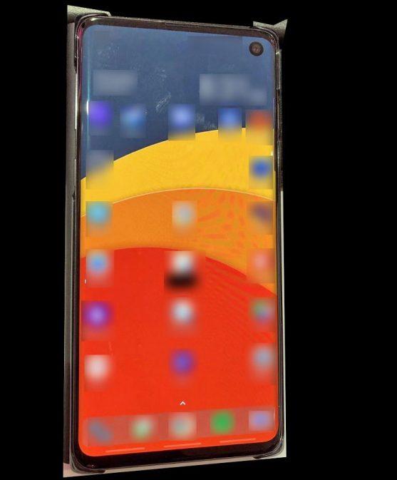 Galaxy S10 photo en fuite