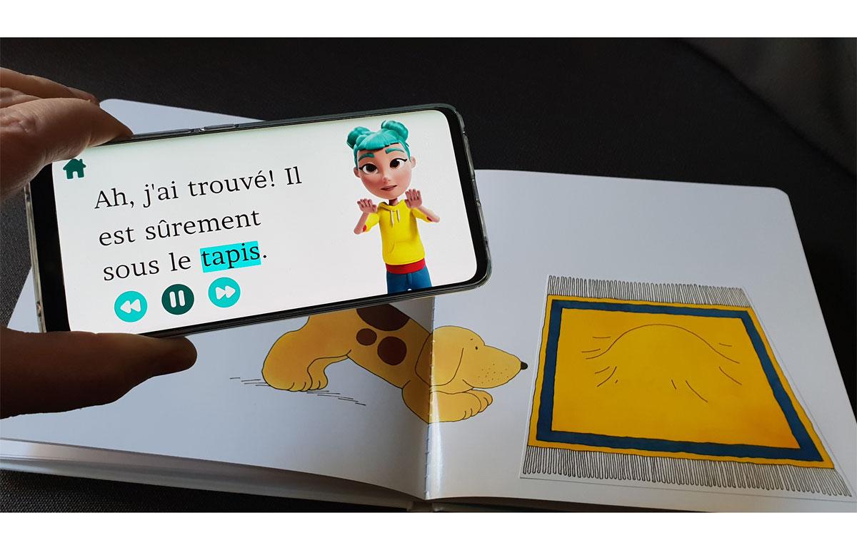 Huawei StorySign appli pour les enfants sourds