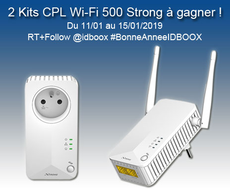 Jeu-concours 2 Kits CPL WiFi Straong
