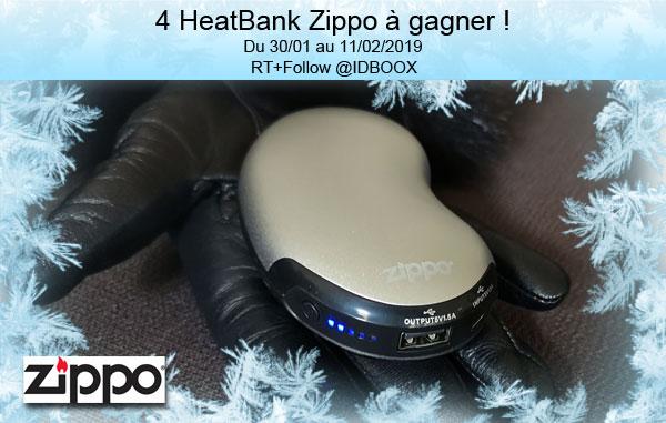 Jeu concours Zippo HeatBank