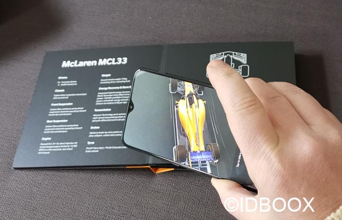 OnePlus 6T McLaren Réalité augmentée