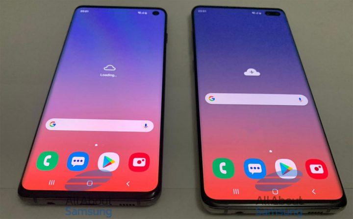 Samsung Galaxy S10 une pluie de photos live