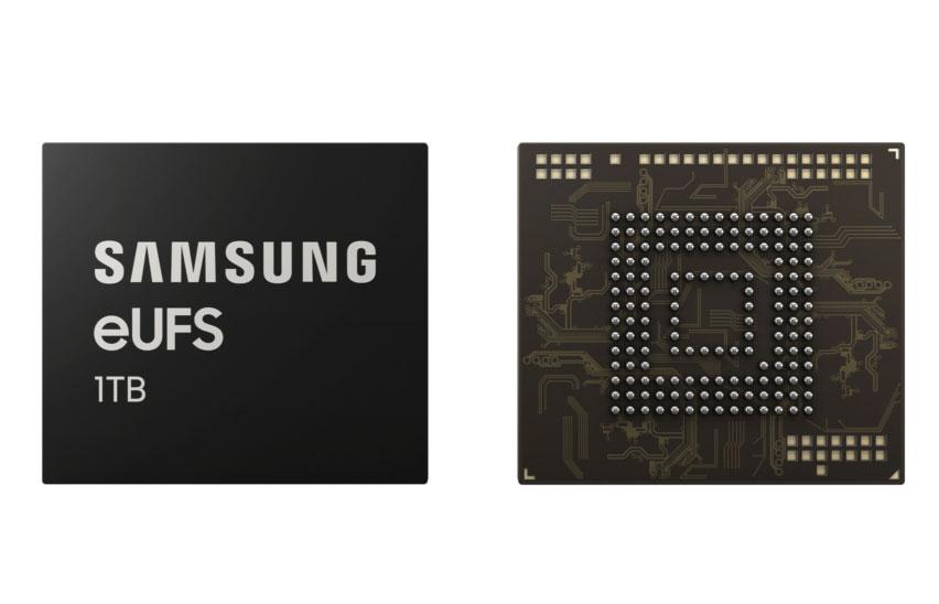 Samsung dévoile la puce de stockage 1To du Galaxy S10+