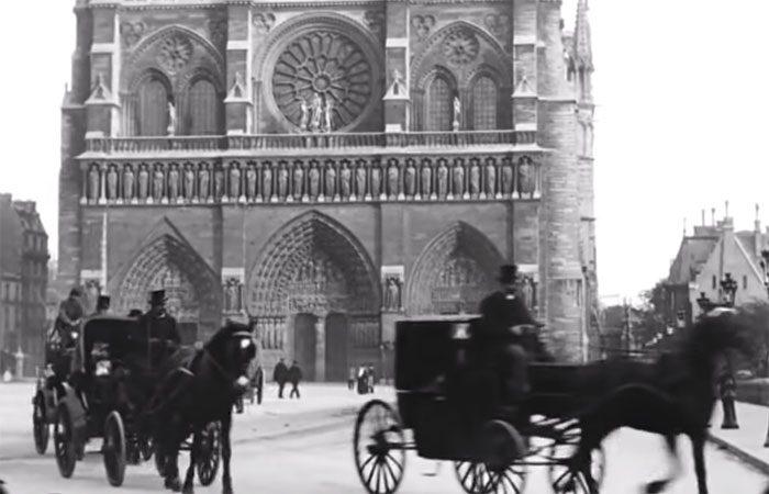 Voyage au coeur Paris annees 1900