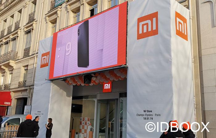 Xiaomi Mi Store ouvre sur les Champs-Elysées