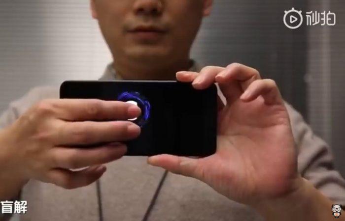 Xiaomi un nouveau lecteur empreintes sous l'écran