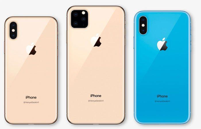 iPhone XI avec trois capteurs photo