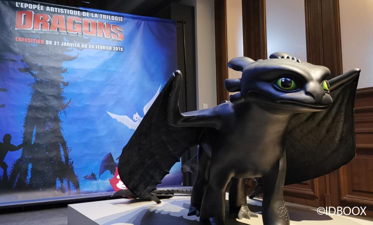 Dragons 3 - l'expo sur les trois films d'animation
