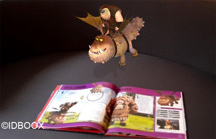 Dragons 3 livre en réalité augmentée