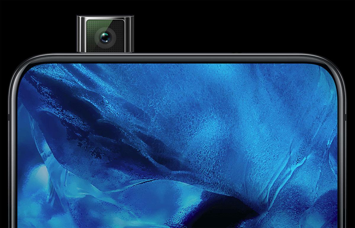 Samsung Galaxy A90 avec une caméra pop-up