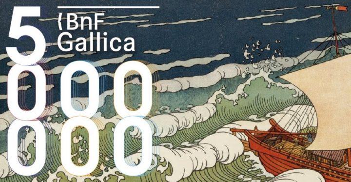 Gallica bnf 5 millions