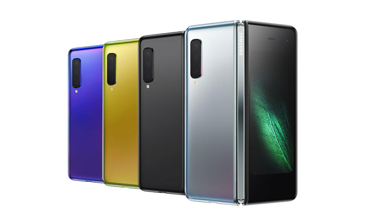 Samsung Galaxy Fold les réparations sur l'écran pliable
